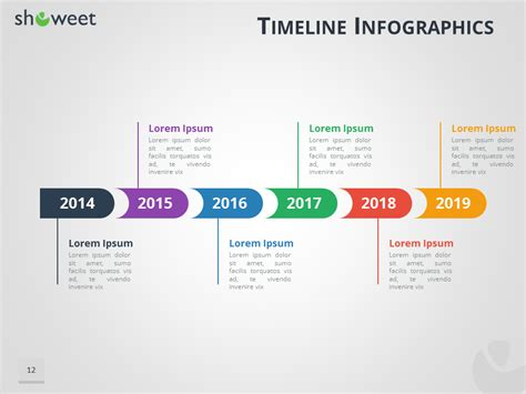 Powerpoint Template For Timeline timeline infographics templates for powerpoint