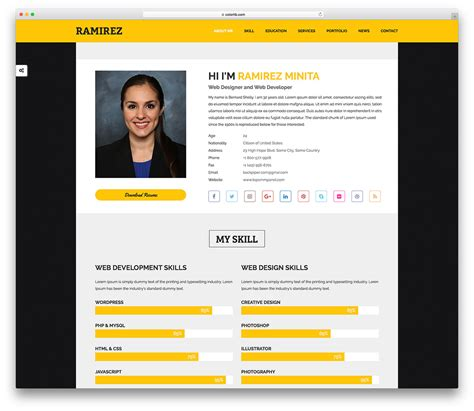 personal website templates  boost  personal branding  wp epitome