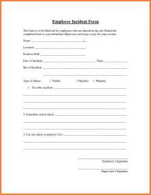 6 employee accident report form template progress report