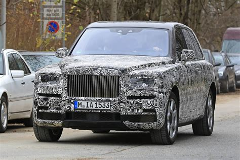 rolls royce roll royce rolls royce cullinan spy shots in munich gtspirit