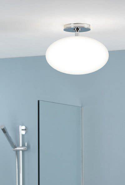 bathroom opal drop pendant