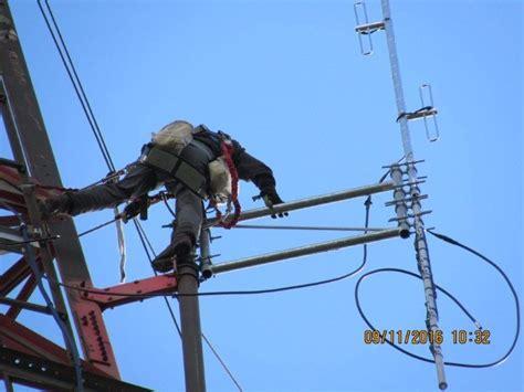 antennas installed  sara vhf  uhf repeaters