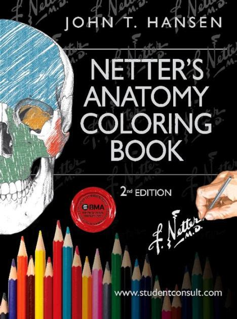 anatomy coloring book barnes noble netter s anatomy coloring book with student consult