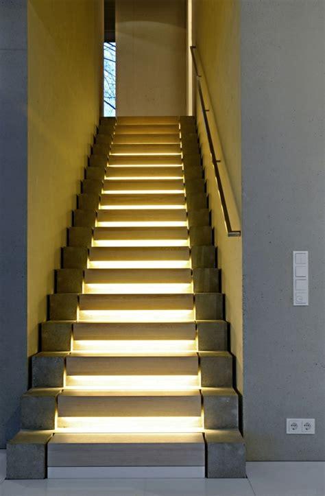 beleuchtung treppe inneneinrichtung ideen bringen sie das haus schnell und