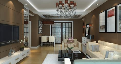 3d pictures 4bedrooms office sitting room and dinning room 3d house plans modern living room with dining room 3d model max