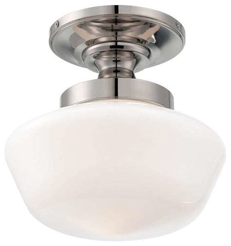 minka lavery 2255 613 schoolhouse semi flush mount in