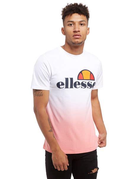 Tshirt Ellesse New One Tshirt lyst ellesse prado fade t shirt in white for