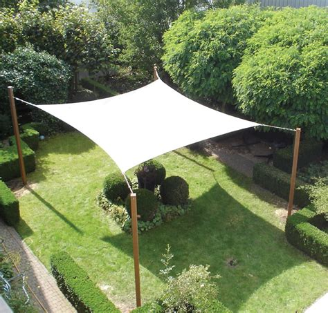 Square Garden Sail Shelter