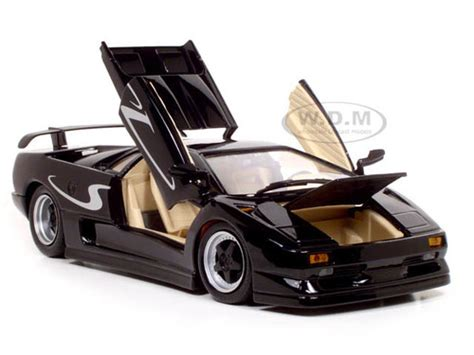 Lamborghini Diablo Model Car lamborghini diablo sv black 1 18 diecast model car maisto