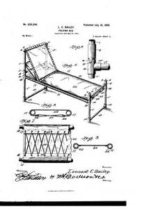 who invented the bed patent us629286 folding bed google patents
