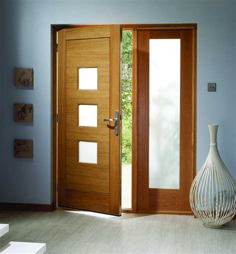 front external doors exterior oak door