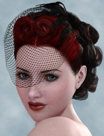 pin up wedding veil design pin curl victory roll my style