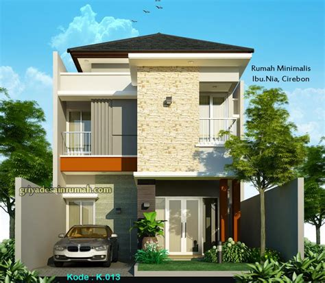 desain tak depan rumah lebar 7 meter desain rumah minimalis 2 lantai lebar 7m jasa desain rumah