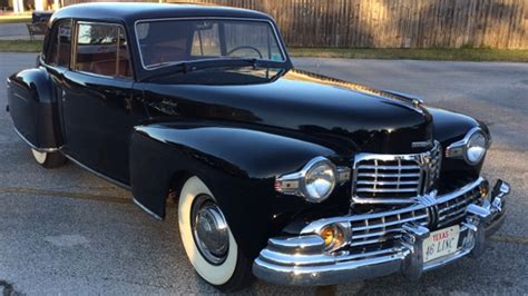 lincoln continental 1946 1946 lincoln continental coupe t156 houston 2017