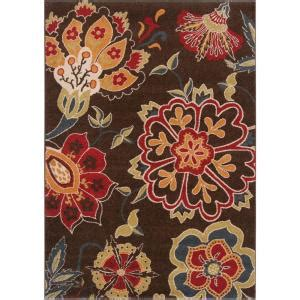 Cadia Plumbing by Artistic Weavers Cadia Chocolate 6 Ft 7 In X 9 Ft 6 In