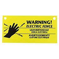 pack warning signs