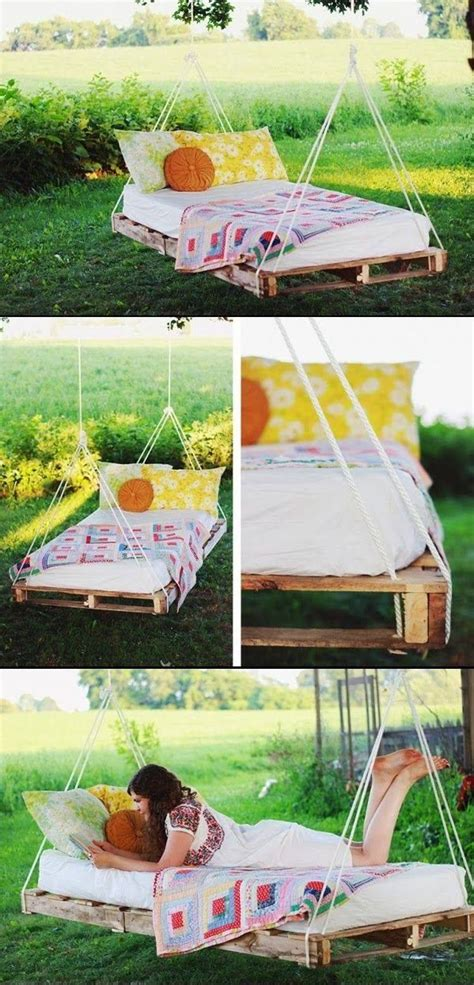 diy pallet swing bed build your own porch swing bed woodworking projects plans