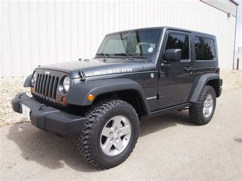 Used 2 Door Jeep Wrangler by Buy Used 2010 Jeep Wrangler Rubicon 4wd Sport Utility 2