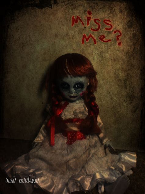 annabelle doll gif the gallery for gt annabelle doll the conjuring gif