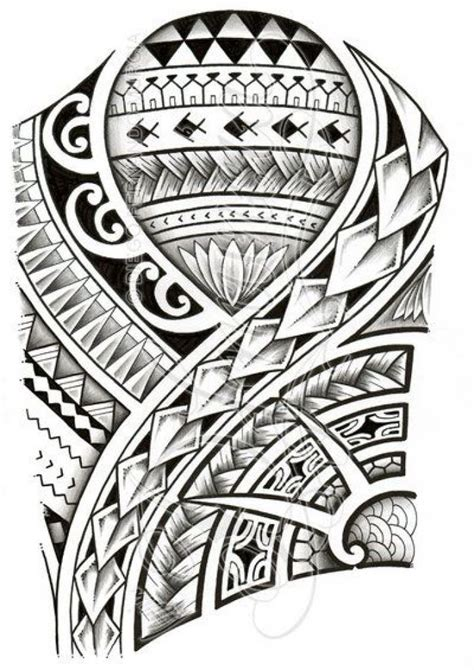 collection of 25 new polynesian tattoo flash