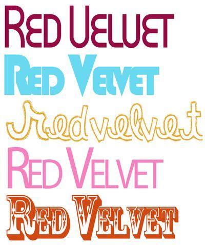 dafont red velvet font obsession red velvet art blog