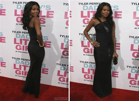 hair lengths celebrity bra gabrielle union long layered black hair with curls and