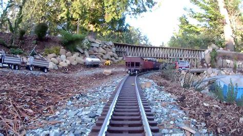Garden Railroad by Brand New Garden Railway Around Boat Pond Fanatics