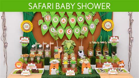Safari Baby Shower by Easy Ways To Throw Safari Baby Shower Themes Free