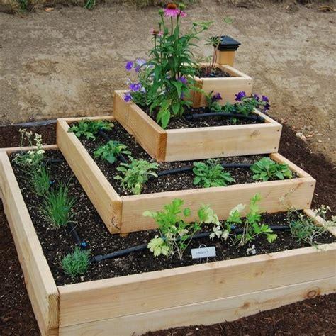 Pinterest Raised Garden Beds - stacked raised bed garden gardens amp gardening pinterest
