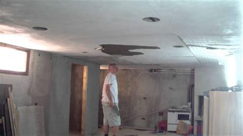 intonacare il soffitto 187 rasare soffitto