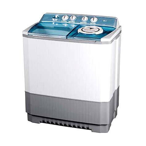 Mesin Cuci Lg L805tc Harga Jual Lg P160r Mesin Cuci 2 Tabung Putih Sejuk Elektronik