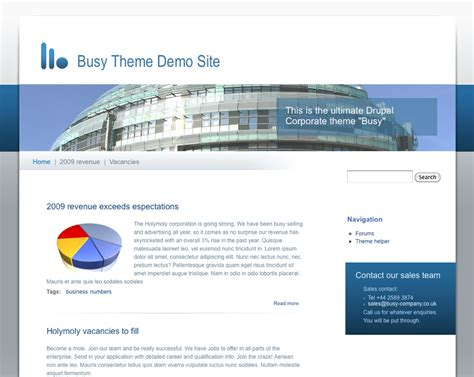 customize blog layout drupal 7 busy drupal org