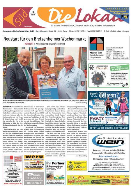 Friseur Mainz Hechtsheim Friseur Hechtsheim Die Lokale S 252 D September 2016 By David