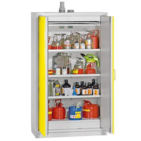 lab chemical storage cabinets duperthal classic line storage cabinets