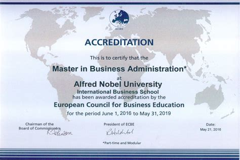 Accredited Mba Programs Europe by News International Accreditation Of Mba Program Run By