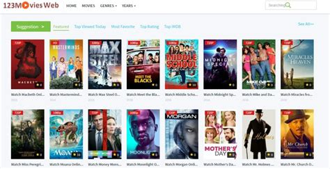 top 20 best free movie streaming sites to watch movies online for 125 free movie streaming sites 2017 to watch free movies