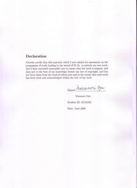 dissertation declaration dissertation declaration of personal contribution 187 www