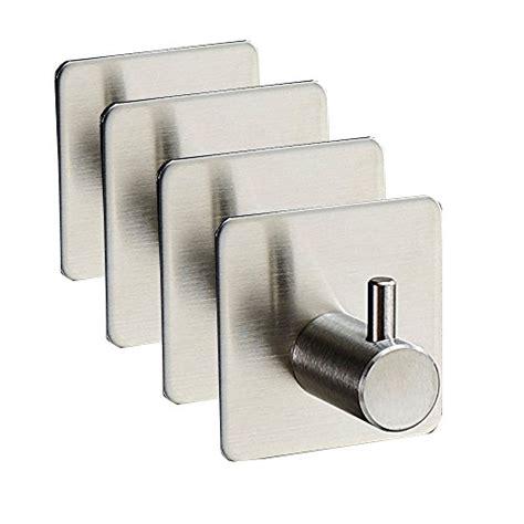 adhesive wall hooks peicees stainless steel towel wall hook 3m self adhesive