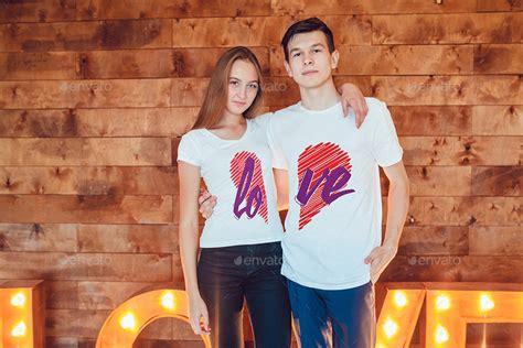lovestory  shirt mock   freemanstudio graphicriver