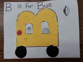 b is for letter craft quot b quot buses