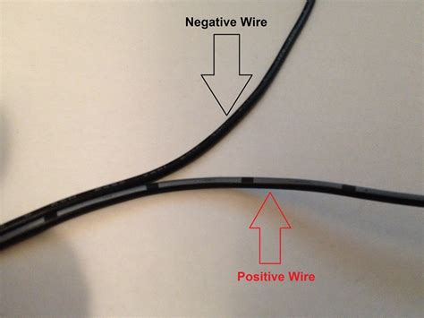 28 and black wires positive negative how to