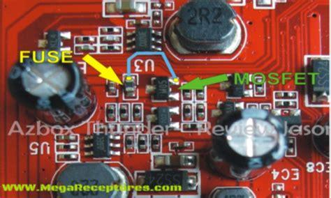 transistor mosfet queimado tutorial para azbox thunder sem sinal mega receptores