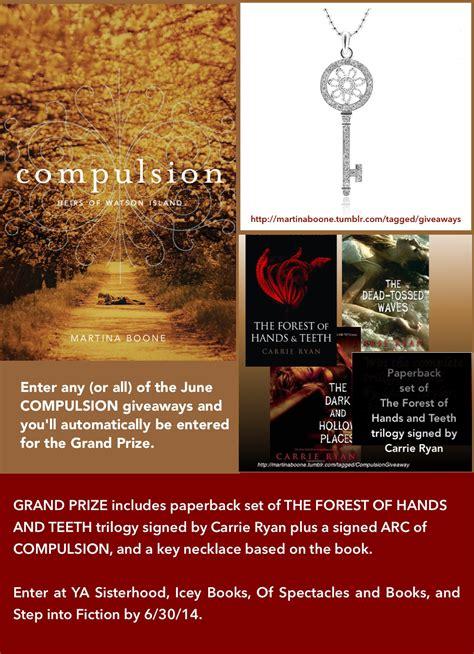 Ya Book Giveaway - the ya sisterhood ya book giveaway hosted by martina boone author of compulsion