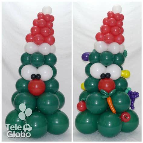 como hacer un pino de globos 193 rbol de navidad de globos personalizado para una verduler 237 a decoraciones con globos para