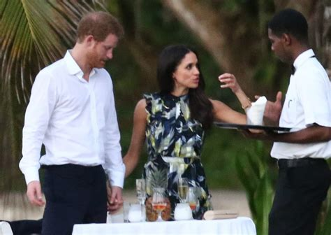 meghan harry prince harry and meghan markle at wedding in jamaica 2017