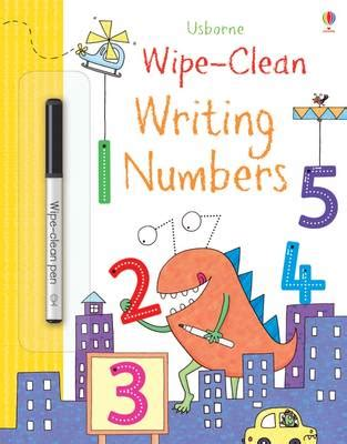 Numbers Learn To Write Wipe Clean Activity Book wipe clean writing numbers by greenwell kimberley waterstones