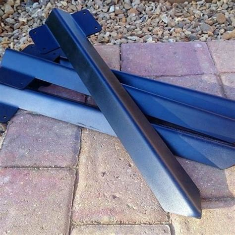 railway sleeper driveway path edging bracket black