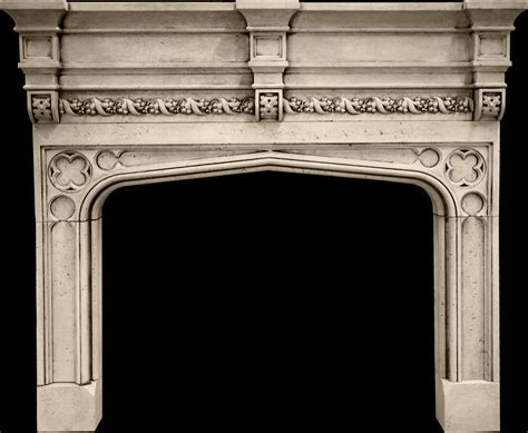 Tudor Style Fireplace by Tudor A Mantel From Tartaruga Design Inc Cast