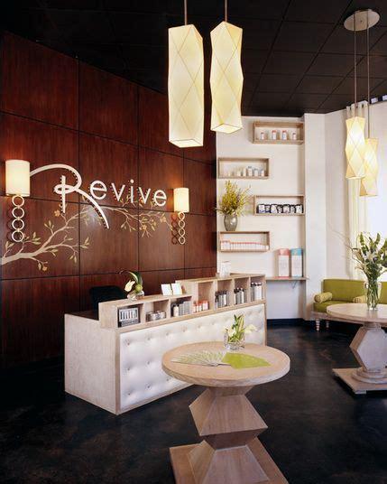 salon reception desk ideas  pinterest front