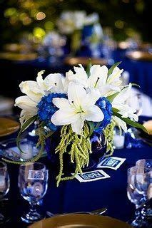 Best 25  Royal blue centerpieces ideas on Pinterest